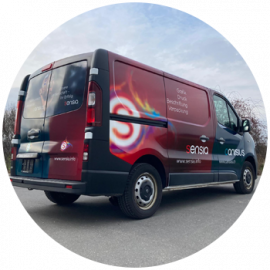 Notre bus de livraison a un nouveau design !